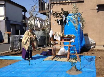 狛江_地鎮祭